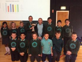 Team Bann win the House Cup