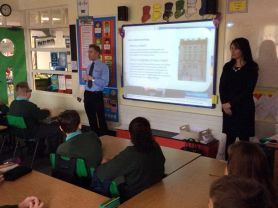 P7 Bank of Ireland visit
