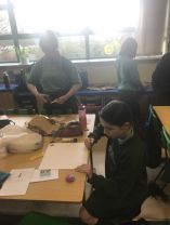 Making our Air Raid Shelters