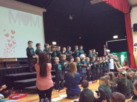 Primary 1A Mothers' Day Assembly