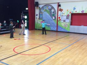 Golf in Primary 4