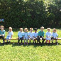 Fun in the sun at our Nursery Sports Day.