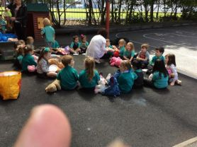 Nursery teddy bears picnic.