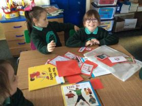 P4 start their topic work