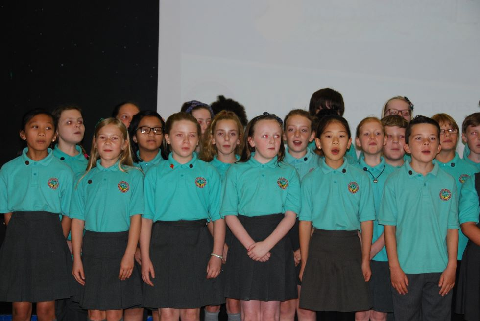The choir at the Open Morning 2016