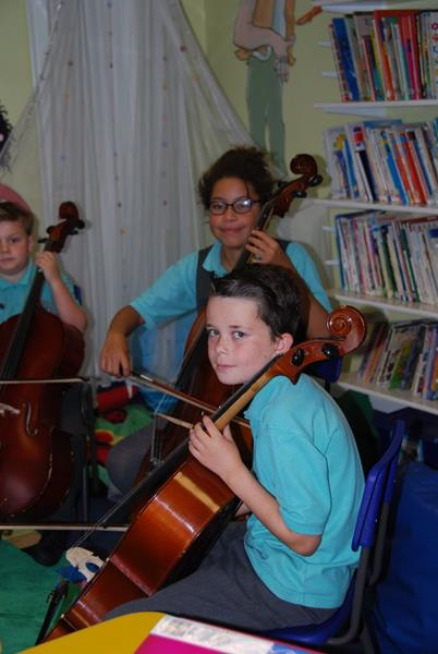 Music at the Open Morning 2016