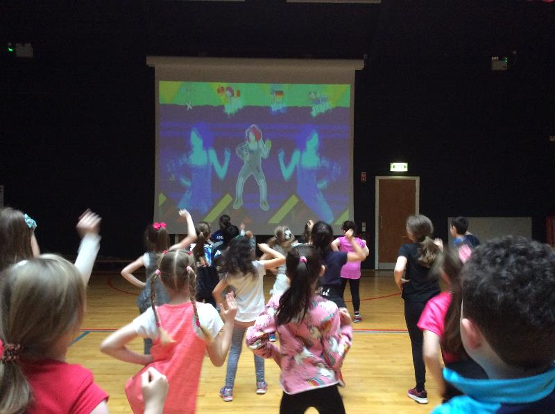 School Zumbathon for Charity