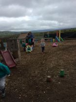 Afternoon children having fun at Barrontop Farm.