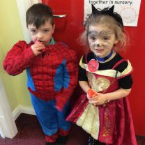 World Book Day in Nursery.