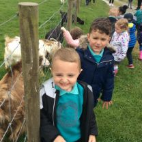 Afternoon class having fun at Barrontop Farm.