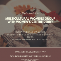 Multi-Cultural Women's Group at Women's Centre, Derry