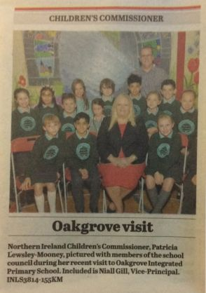 Children's Commissioner visits Oakgrove