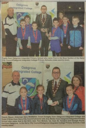Success at Derry Council/Oakgrove College Event