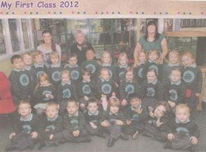 My First Class 2012 - Mr Carey's Primary 1