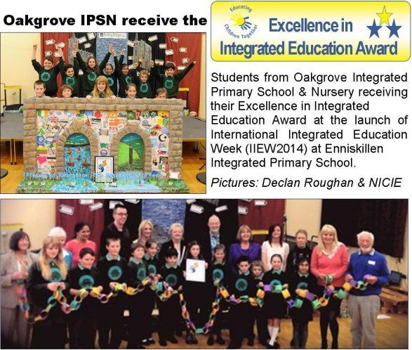 Excelence in Integrated Education Award