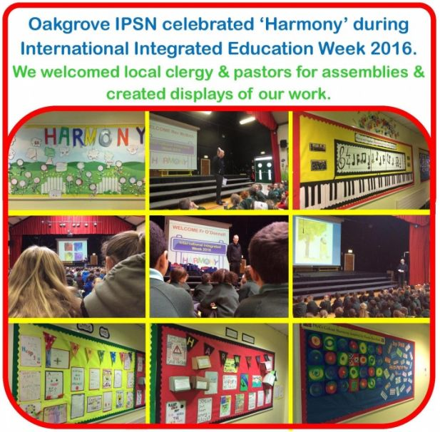 International Integrated Education Week 2016 - Harmony